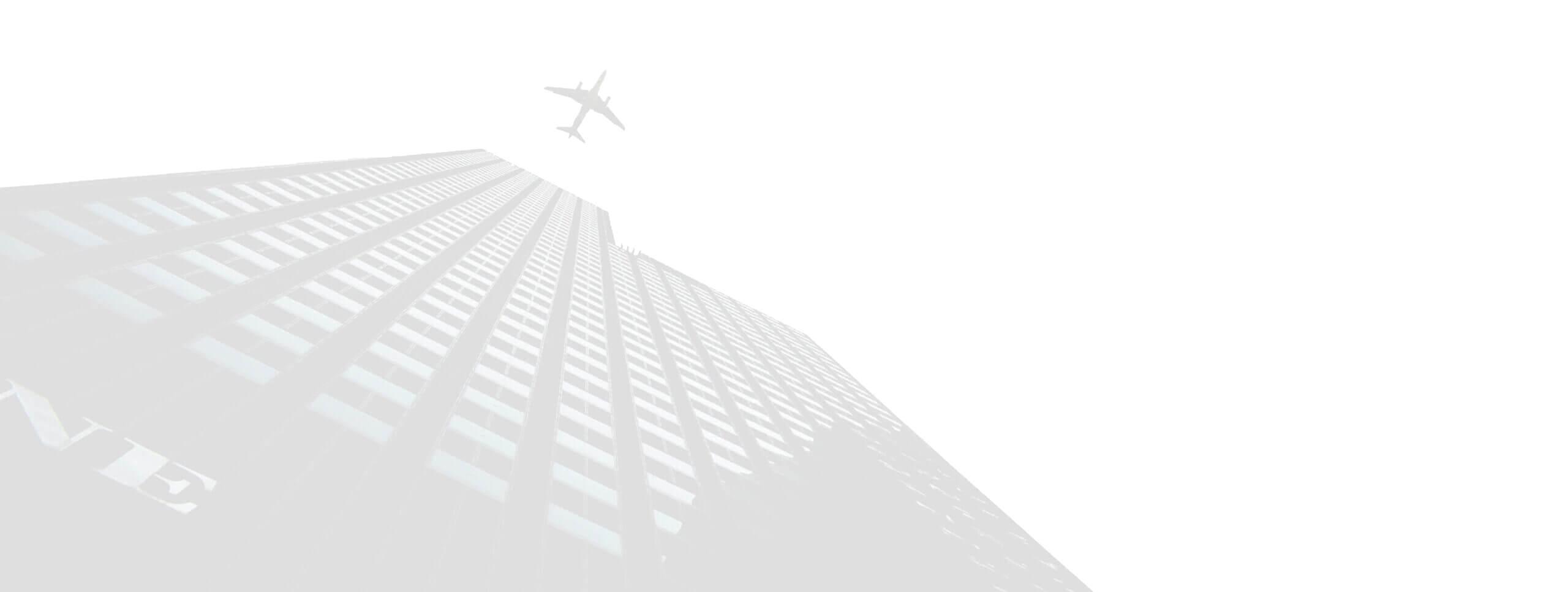 Building + Aeroplane